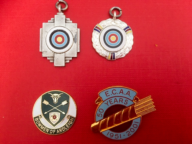 A Selection of Medals from the 1970's