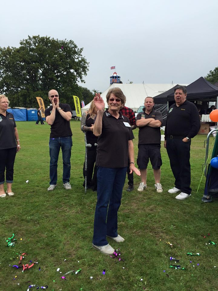 Jann got ambushed on her birthday at Havering Show 2015
