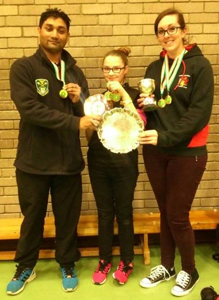 TEAM GOLD For Shamsul, Raven-Corey and Sarah at Jolly Archers.